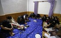 Tạm giữ 20 thanh niên thuê biệt thự dùng ma túy