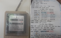 Nhân viên ghi lộn gần 400kWh điện, điện lực xin lỗi khách hàng