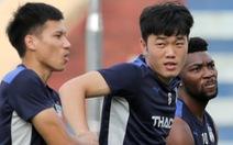 Xuân Trường bất ngờ xuất hiện, tập cùng HAGL trước trận gặp Nam Định