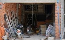 Sập giàn giáo khi đang tô tường, 4 người bị thương