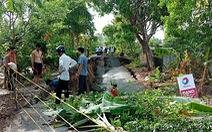 Trong 3 tháng, tuyến đường ở Cà Mau sụt lún đến 10 lần
