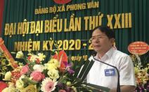 Yêu cầu chủ tịch huyện Ba Vì  kiểm điểm do buông lỏng quản lý đất đai
