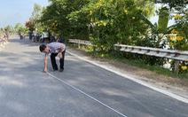 Quốc lộ 91 tiếp tục rạn nứt nửa mặt đường với chiều dài hơn 20m