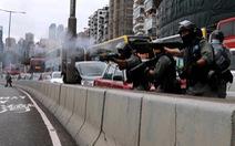 Hàng ngàn người Hong Kong xuống đường phản đối dự luật an ninh