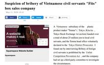 Nghi án công ty Nhật ở Bắc Ninh hối lộ 5,4 tỉ đồng để trốn thuế