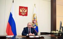 Tổng thống Putin: Nga qua đỉnh dịch, sẽ duyệt binh Ngày chiến thắng vào 24-6