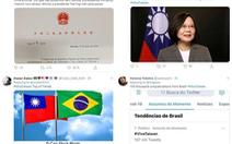 Người dân Brazil tức giận với yêu cầu 'im lặng' về Đài Loan của Trung Quốc