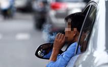 Trên 90% người ung thư phổi liên quan tới thuốc lá