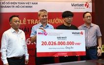 Trúng Vietlott 20 tỷ đồng, chàng trai dùng tiền khởi nghiệp