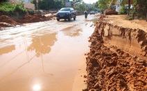 Bùn cát đỏ lại ập xuống Mũi Né, tràn khắp nhà dân, nhà hàng, resort