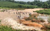 Vỡ đập thủy lợi ở Phú Thọ, di dời khẩn cấp 16 hộ dân