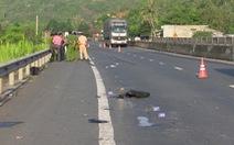 Tìm được xe tải tông chết người ở Phú Yên, chạy trốn về Hà Nội