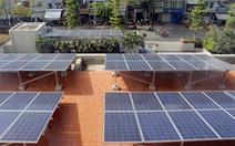 Điện mặt trời áp mái rất sôi động