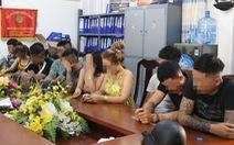 11 thanh niên 'phê' ma túy trong phòng VIP karaoke tại Nha Trang