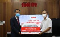 Dai-ichi Life trao 2 tỉ đồng và 100.000 khẩu trang 'Cùng Tuổi Trẻ chống dịch COVID-19'