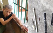 Ba cảnh sát bị thương khi bắt nam thanh niên nghi 'ngáo đá'