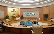 Chính phủ ra nghị quyết, trong đó có việc 'theo dõi sát tình hình Biển Đông'