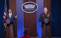 Bộ trưởng quốc phòng Mỹ lên án Trung Quốc hung hăng ở Biển Đông, trục lợi từ dịch bệnh