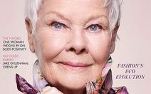 'Quý bà 007': gương mặt cao tuổi nhất trong lịch sử 104 năm của bìa Vogue Anh