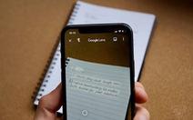 Sao chép văn bản viết tay vào máy tính với ứng dụng Google Lens