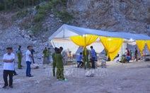Tai nạn tại mỏ đá, 2 người chết, 1 người chưa tìm thấy