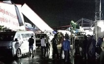 Lốc xoáy, sập nhà xưởng ở Vĩnh Phúc, 3 người chết, nhiều người bị thương
