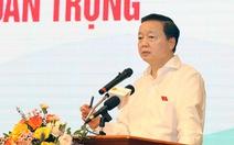 Bộ trưởng Trần Hồng Hà: 'Tập trung quản lý 300-400 doanh nghiệp gây 80% ô nhiễm'