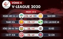 Lịch trực tiếp vòng 4 V-League ngày 12-6: Dậy sóng derby CLB TP.HCM - Sài Gòn