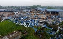 Lốc xoáy sập nhà xưởng ở Vĩnh Phúc: mới đi làm lại 3 buổi sau dịch thì gặp nạn