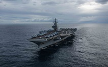 Mỹ điều hai tàu sân bay đến Thái Bình Dương giữa căng thẳng khu vực
