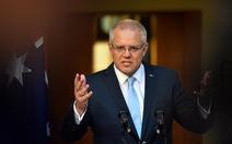 Thủ tướng Úc tuyên bố sẽ không để Trung Quốc bắt nạt