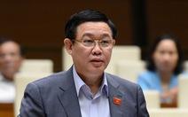 Quốc hội đồng ý cho ông Vương Đình Huệ thôi chức phó thủ tướng