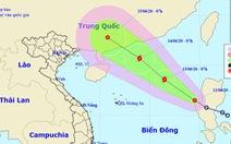 Áp thấp nhiệt đới vào Biển Đông gây gió giật cấp 9, có khả năng thành bão ngày mai