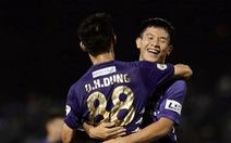 Video: Hai bàn thắng đẹp khiến trận Hà Tĩnh - Hà Nội bất phân thắng bại