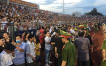 Lãnh đạo Hà Tĩnh xin lỗi về sự cố 'vỡ sân' trận Hồng Lĩnh Hà Tĩnh - Hà Nội