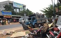 Xe tải lao vô chợ: 'Chúng tôi nghe cái ào, rồi người chết, bị thương nằm la liệt'