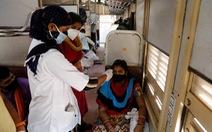 Ấn Độ dùng 500 toa tàu làm bệnh viện dã chiến cho bệnh nhân COVID-19