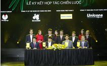 Pi Group ký kết hợp tác với Hòa Bình, Unicons và Nam A Bank