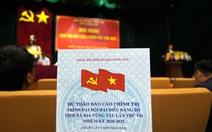 Bí thư Bà Rịa - Vũng Tàu đề nghị phóng viên góp ý cho báo cáo chính trị
