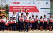 Ximăng INSEE tài trợ 20 tỉ xây trường cho học trò vùng sâu