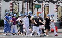 Bắc Kinh dập dịch như thời chiến