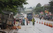 Vụ xe tải lao vào chợ, 5 người chết: khởi tố, bắt tạm giam tài xế người Cà Mau
