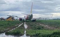 Học được gì sau sự cố máy bay Vietjet trượt khỏi đường băng?