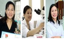 Ba phụ nữ Việt lọt top 100 nhà khoa học tiêu biểu châu Á
