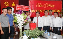 Lãnh đạo TP.HCM thăm cơ quan báo chí nhân Ngày báo chí Việt Nam