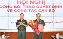 Đại tá Hoàng Đình Chung làm chủ nhiệm chính trị Quân khu 7