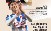Đưa cầu thủ Việt Nam xuất ngoại: Đừng vì ý chí của các ông bầu