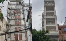 Tháo dỡ xong phần nhà vi phạm của nguyên chánh Thanh tra xây dựng quận 10