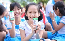 Vinamilk tặng quà 1-6 đặc biệt đến với trẻ em Quảng Nam