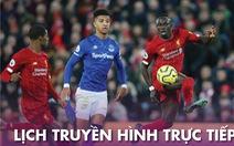 Lịch trực tiếp bóng đá châu Âu 21-6: Derby Everton - Liverpool